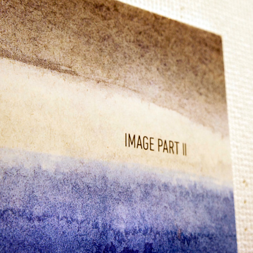 佐藤俊一郎 個展 「IMAGE PART II」: Image Panel